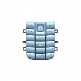 Teclado Nokia 6020 Prata