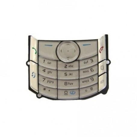 Keypad Nokia 6680 Latin Silver