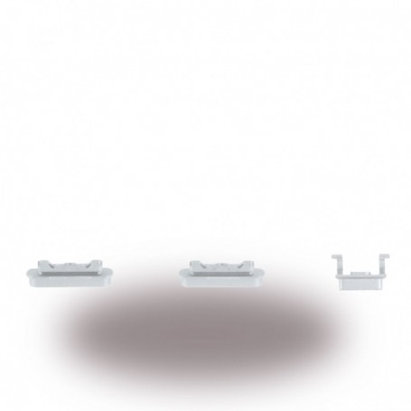 Spare Part, Volume Button, Apple iPhone 6, Silver, CY117002