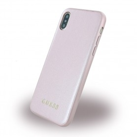 Guess Iridescent Hard Case Apple iPhone X Rose Gold, GUHCPXIGLRG