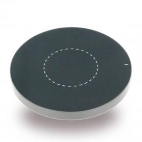 Carregador por Indução Alumínio Pad Qi Standard, Prateado, CY119425