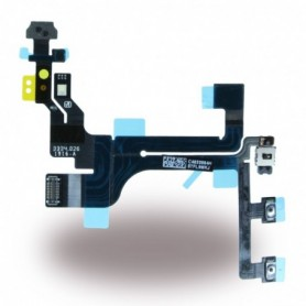 Spare Part, Flex Cable On/Off Powerbutton Module + Volume + Microphone, Apple iPhone 5 C, CY117017