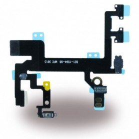 Spare Part, Flex Cable On / Off Powerbutton Module + Volume + Microphone, Apple iPhone 5 S, CY117024