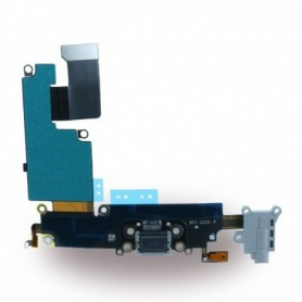 Spare Part, System Connector + Audio Flex Cable, Apple iPhone 6 Plus, Space Grey, CY117033