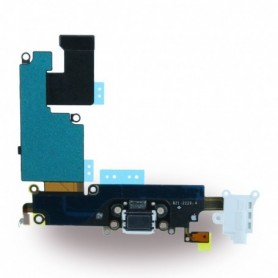 Spare Part, System Connector + Audio Flex Cable, Apple iPhone 6 Plus, White, CY117034