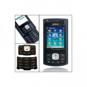 Keypad Nokia N80 Black