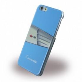 Corvette COHCP6LWILB C1 Classic Leather Hardcover / Hard Case Apple iPhone 6 Plus, 6s Plus Light Blue