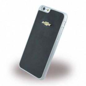 Capa Rígida Chevrolet, CHHCP6LMIBL, Emblem espelho Effect, Napa, Apple iPhone 6 Plus, 6s Plus, Preto