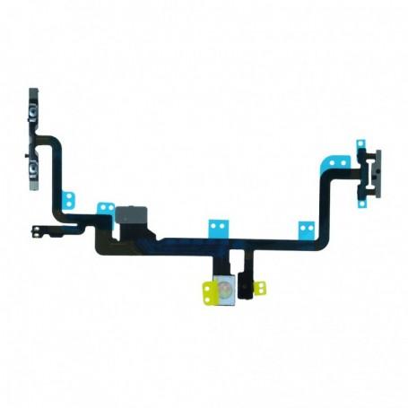 Spare Part, Flex Cable Power Button + Fash Light, Apple iPhone 7 Plus, CY119747