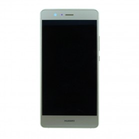 Huawei P9 Lite LCD Display / Touch Screen with Frame Gold, 02350TMS