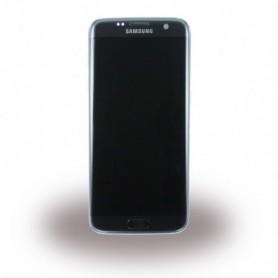 Samsung G935F Galaxy S7 Edge, LCD Display / Touch Screen, Black, GH97-18533A