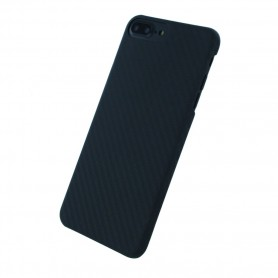 Capa Rígida UreParts Black Edition Carbono Apple iPhone 6s Plus, 7 Plus, 8 Plus, Preto, 119912