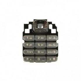 Teclado Nokia 6030 Prata