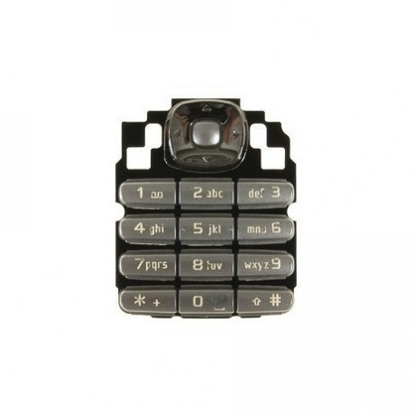 Keypad Nokia 6030 Silver