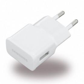 Carregador Samsung, ETAOU83EWE / 81EWE, USB, 1000mA, Branco, Original