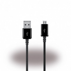 Samsung, ECB-DU4EBE, Data and Charging Cable, MicroUSB, 1.5m, Black