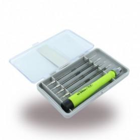 Ferramenta de Reparação 4 in1 CR-V No. 7391A Tool Kit / Conjunto de Chaves parafusos para Telemóveis