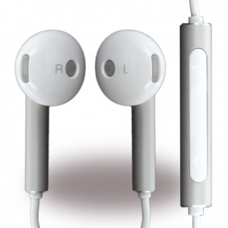 Huawei AM116 Earphone 3,5mm Jack White-Silver, 22040281