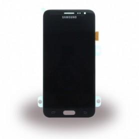 Samsung J320 Galaxy J3 (2016), LCD Display / Touch Screen, Black, GH97-18748C/18414C