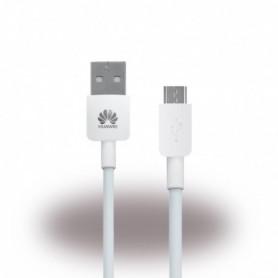 Cabo de Dados Huawei MicroUSB 1m, Branco, Original, LX0998