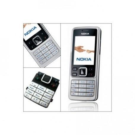 Teclado Nokia 6300 Prata