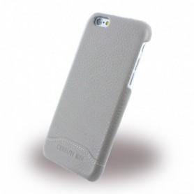 Capa em Couro Cerruti 1881 CEHCP6GRLTA Signature Trim Apple iPhone 6, 6s, Bege