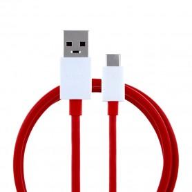 Cabo de Dados OnePlus D301 Dash Fast USB para USB Tipo C 1m, Vermelho