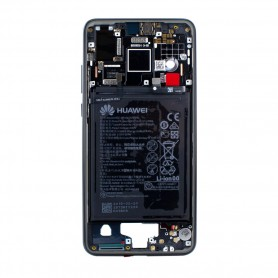 Chassis Huawei P20 com Bateria, Preto, Original, 02351WKJ
