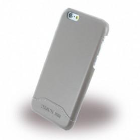 Capa Rígida Cerruti 1881 CEHCP6SLTA Smooth Split Leatherette Apple iPhone 6, 6s, Cinzento
