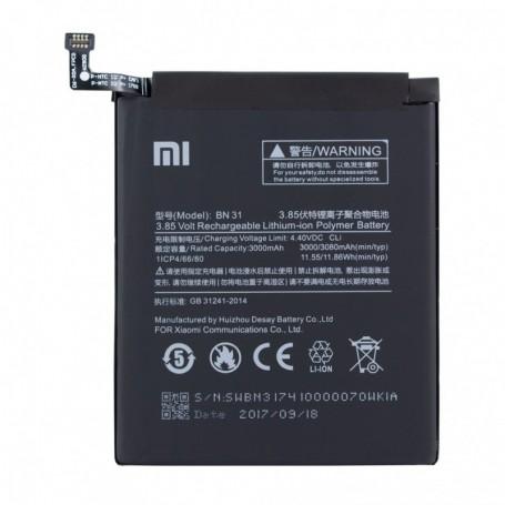 Bateria Xiaomi Lithium Ionen BN31 Xiaomi Mi 5X 3000mAh, Original