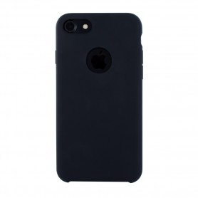 Capa Rígida Cyoo, Premium Liquid Silicone, iPhone 7, iPhone 8, Preto, CY120211