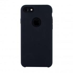 Cyoo, Premium Liquid Silicone Hardcover, iPhone 7, iPhone 8, Black, CY120211
