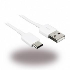 Cabo de Dados Samsung EP-DN930CWE USB para USB Tipo C 1.2m, Branco, Original