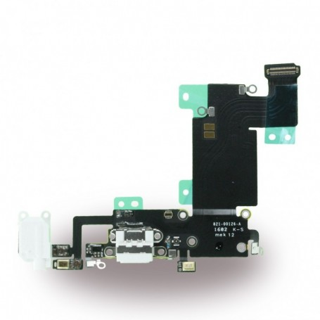 Spare Part System Connector + Flex Cable Apple iPhone 6s Plus White