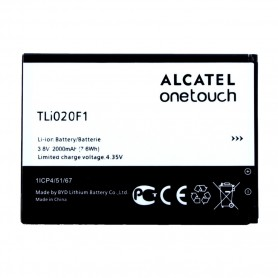 Alcatel, Li-Ion Battery, TLI20F1, One Touch Pop C7 OT-7040 and OT-7041, 2000mAh, TLi020F1