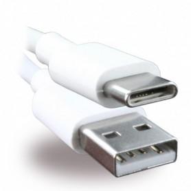 Cabo de Dados Huawei AP51 / HL-1121 USB para USB Tipo C 1m, Branco, Original, 4071263