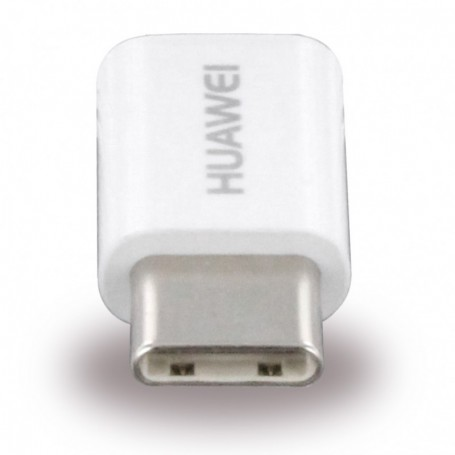 Huawei AP52 Adapter MicroUSB to USB Type C White, 4071259