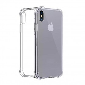 Capa em Silicone Cyoo Four Coners Apple iPhone XS Max, Transparente, CY120353