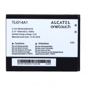 Bateria Alcatel Li-Ion TLi014A1 One Touch 4010D, 4030D, 5020D, 4012D 1400mAh