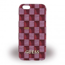 Guess Jet Set GUHCP6JSPI Hardcover / Hard Case Apple iPhone 6 / 6s Pink