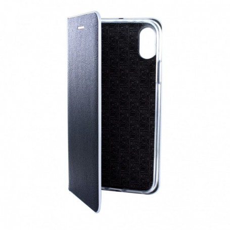 Cyoo, Belat, Leatherette book case, Apple iPhone 6.5 XS Max, black, CY120336