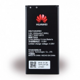 Huawei, HB474284RBC, Lithium-Ion Battery, Ascend Y550, Ascend G620s, Y635, 2000mAh
