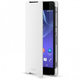 Sony SCR10 Style Book Case with Stand Sony Xperia Z2 White, 1280-1130
