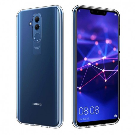 Cyoo Silicone Case Huawei Mate 20 Lite Ultra slim Cover Transparent