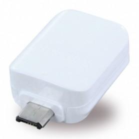 Adaptador Samsung EE-UG930 OTG MicroUSB para USB, Branco, Original, GH96-09728A