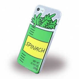 Benjamins BJ7POPSPIN Silicone Cover / Phone Skin Apple iPhone 7, 8 Spinach
