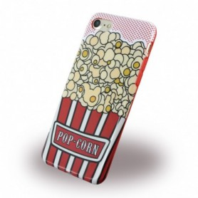 Capa em Silicone Benjamins BJ7POPCORN Apple iPhone 7, 8 Pop Corn