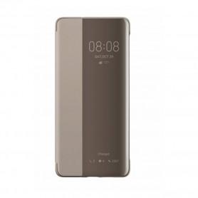 Huawei Smart View Flip Hardcover Huawei P30 Khaki, 51992864