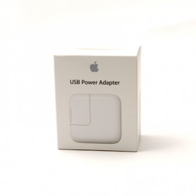 Apple, MD836ZM/A, Travel Charger Adapter, USB, White, MD836ZM-A A1401