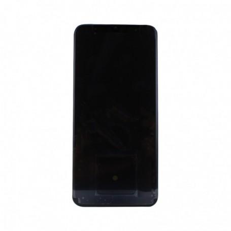 Samsung A505F Galaxy A50 (2019), LCD Display / Touchscreen with Frame, Black, GH82-19204A / 19713A